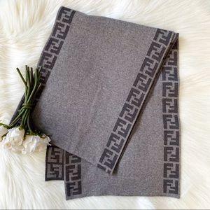 Fendi FF Wool Scarf